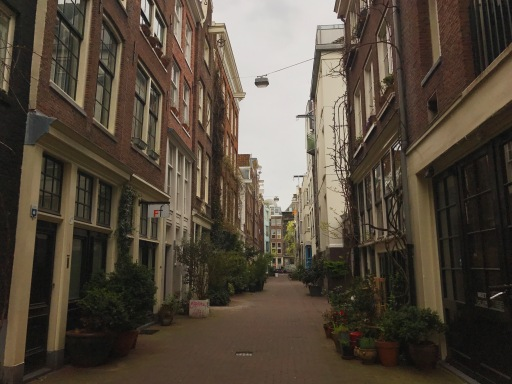 Bethanienstraat--the street outside the Tulip Little B&B